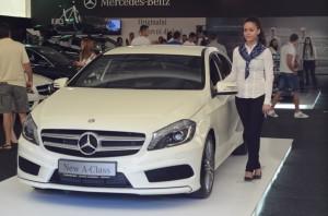 Автомобильная выставка в Будве