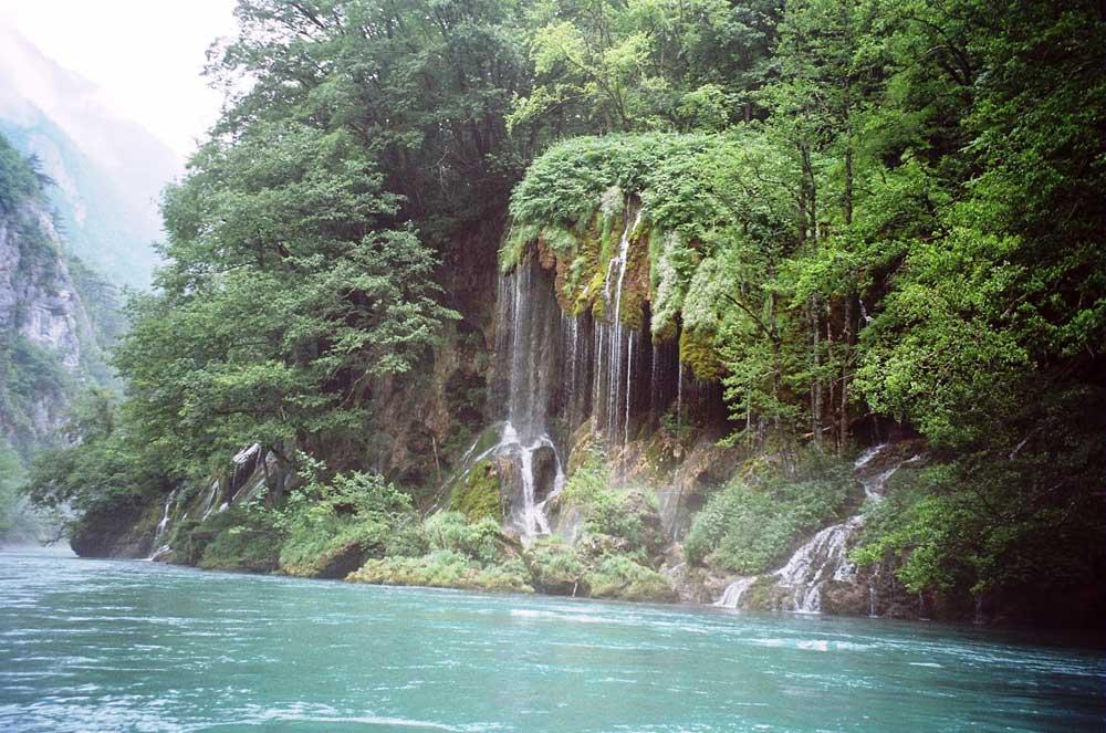 Водопад на Таре