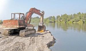 Загрязнение рек добыча песта