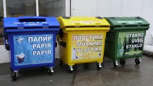 Контейнеры для селективного сбора мусора