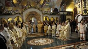 Литургия в Храме В Подгорице