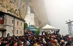 Монастырь Острог сегодня
