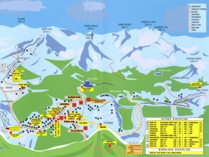 НП Дурмитор карта