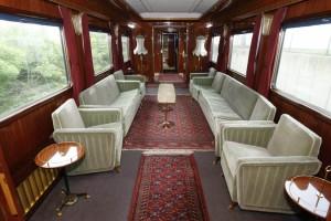 Салон в Синем поезде