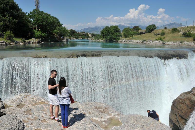 Циевна водопады
