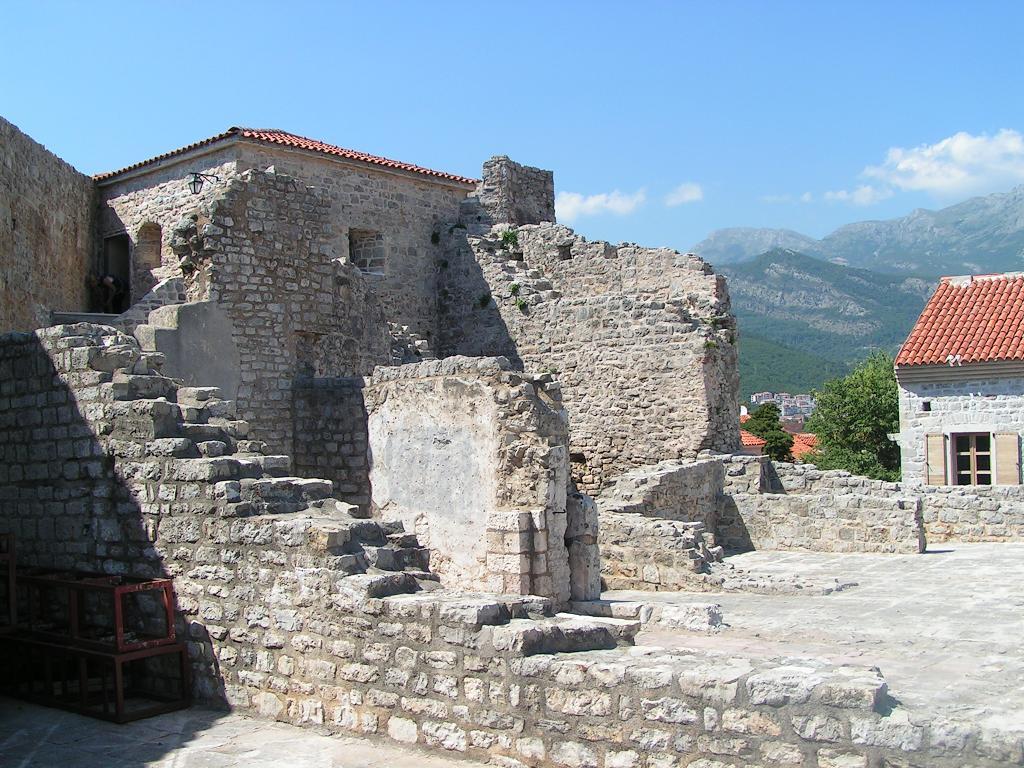 Будва Черногория, Старый город Цитадель