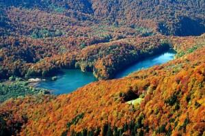 националый парк Биоградская года (озеро)
