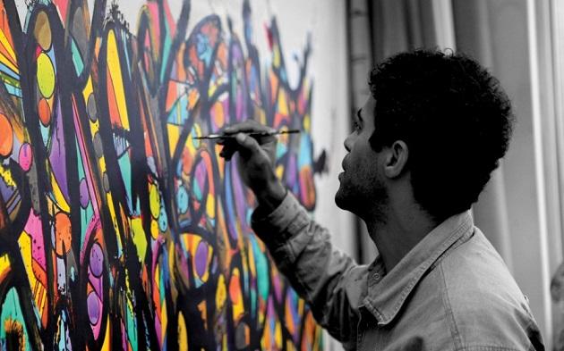 перфоманс графитти ченогория