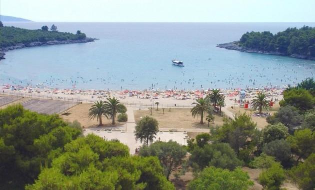 Голубые горизонты пляж