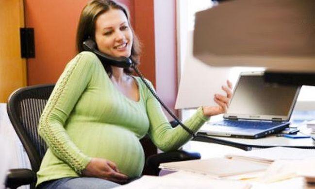 Беременная женщина без работы