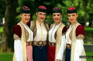 женщины Черногории