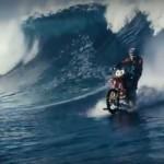 Мотоцикл по воде 00005