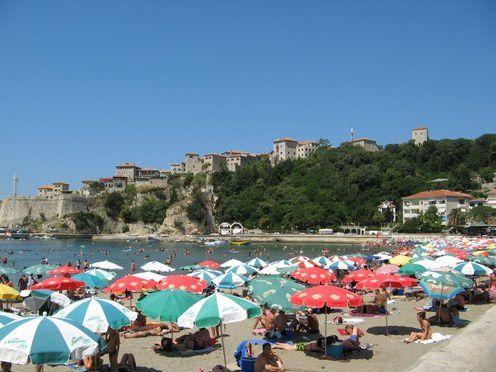 Улцинь, пляж