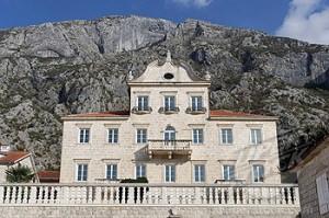 Dobrota,old palace,Kotor Bay,Montenegro
