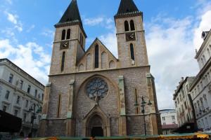 Сараево. Кафедральный собор Сердце Исусса