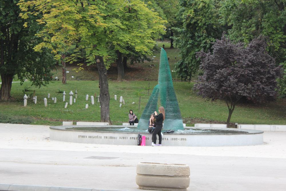 Памятник детям погибшим в Сараево