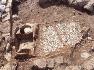 Мозаики - раскопки