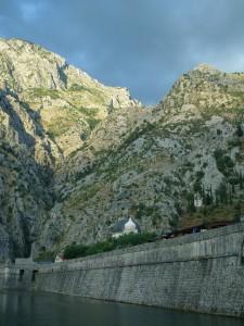 Стены старого города Котор