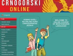 crnogorski online