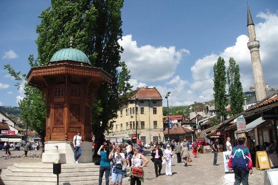 Фонтан Себиж. Сараево