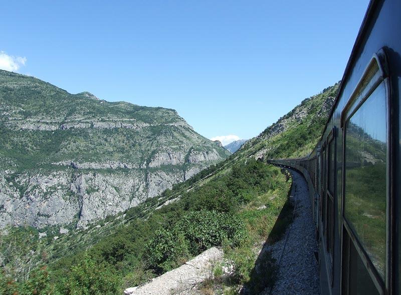 Железная дорога в Черногории