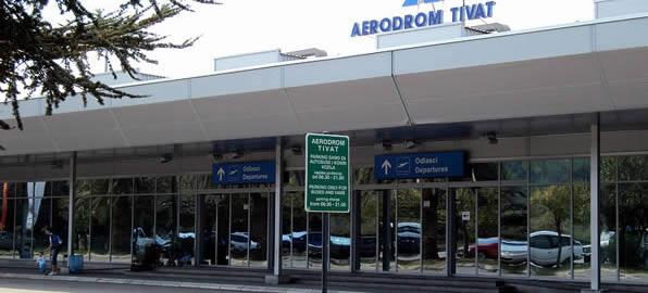 Аэропорт Тиват, Черногория